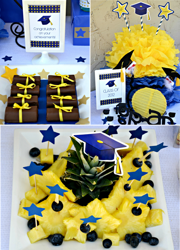Graduation party on pinterest graduation parties for Graduation decorations