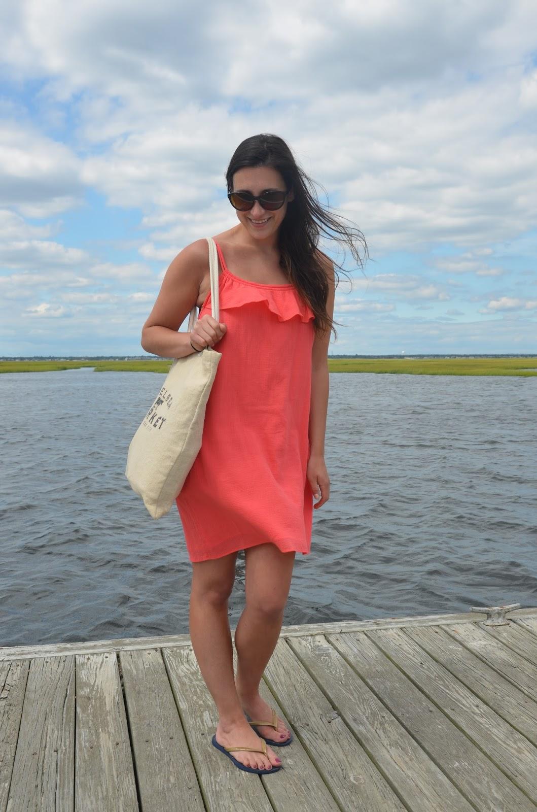 j. crew beach dress