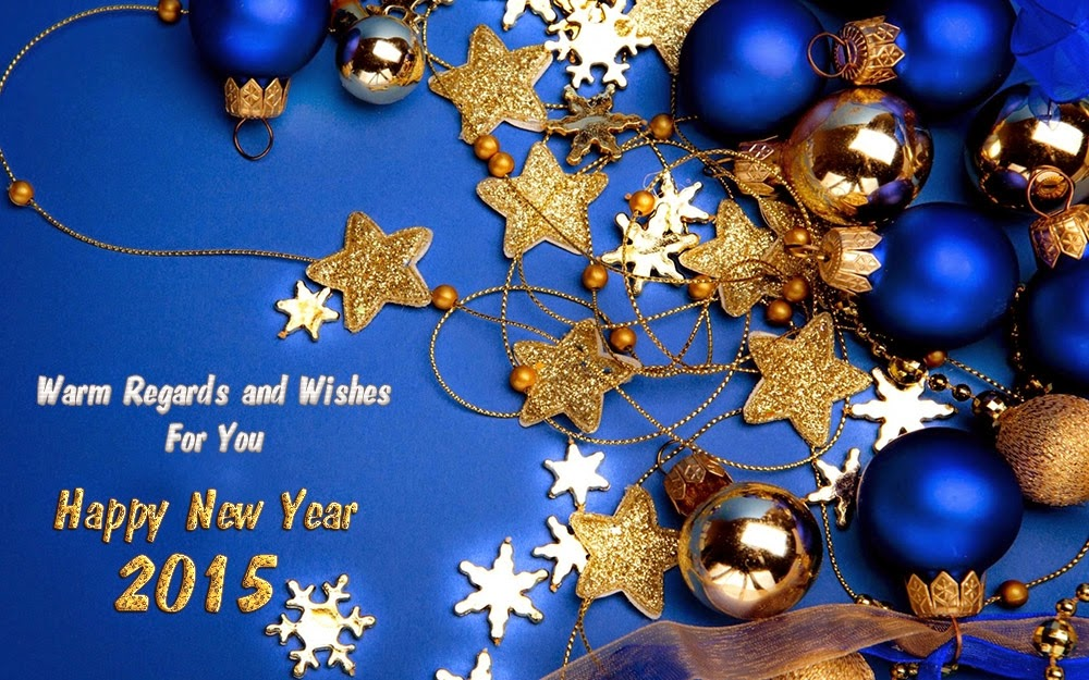Christmas Stars Happy New Years Wishes Greetings 2015 Images
