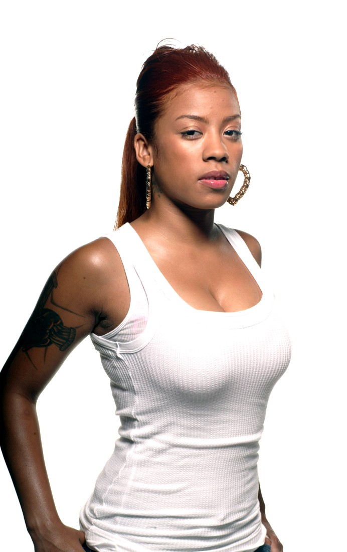 anotherallergymom: Keyshia Cole Red Hair Ponytail Hairstyle