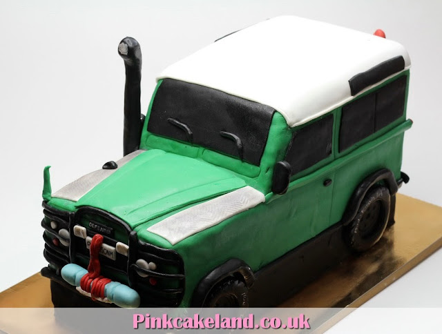 Land Rover Defender Birthday Cake=