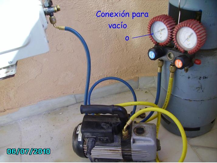 Aire acondicionado hacer vacio en el circuito angelatedo for Bomba desague aire acondicionado silenciosa