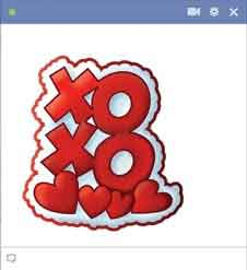 Chat Emoticon Facebook Spesial Cinta
