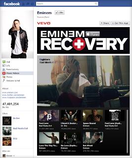 Eminem fan page