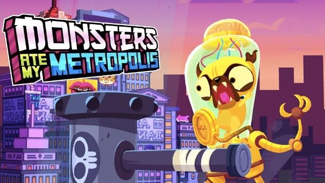 Download Monsters Ate My Metropolis v1.2.1 APK (Mod Unlocked) Data Obb Full