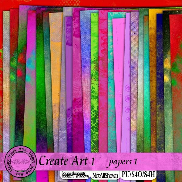 HSA Create Art  papier 1