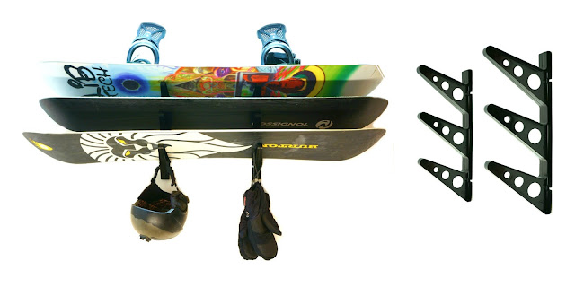 wall rack for snowboards