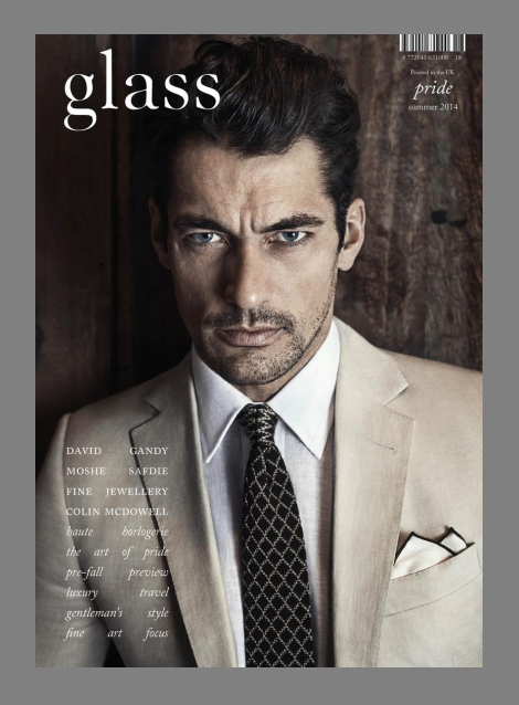 David Gandy for Glass Summer 2014