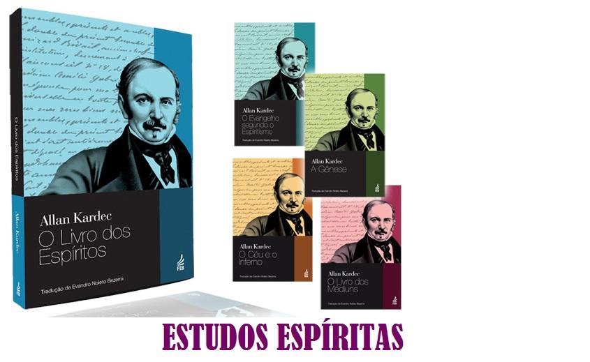 ESTUDOS ESPÍRITAS