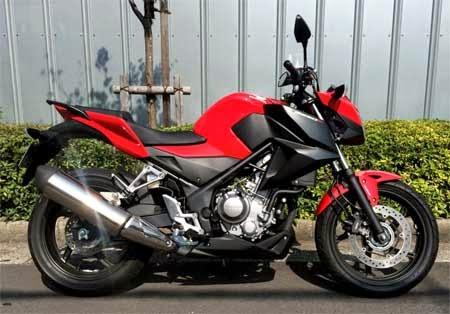 gambar motor CB250F