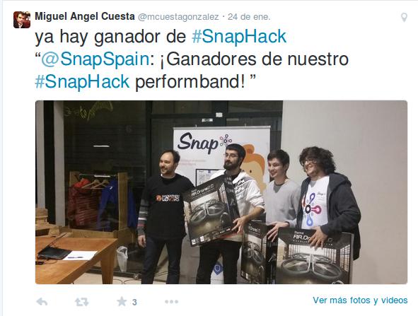 Ganadores SnapHack