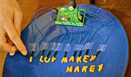 MaKey MaKey: Alphabetti spaghetti keyboard