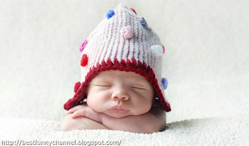 Cute baby sleeping.