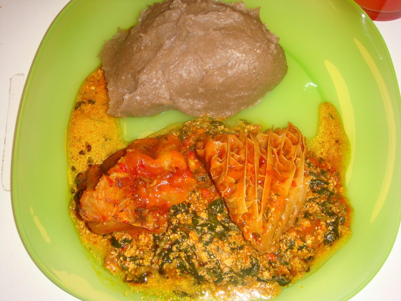 Modern african cuisine amala for Afrikaans cuisine