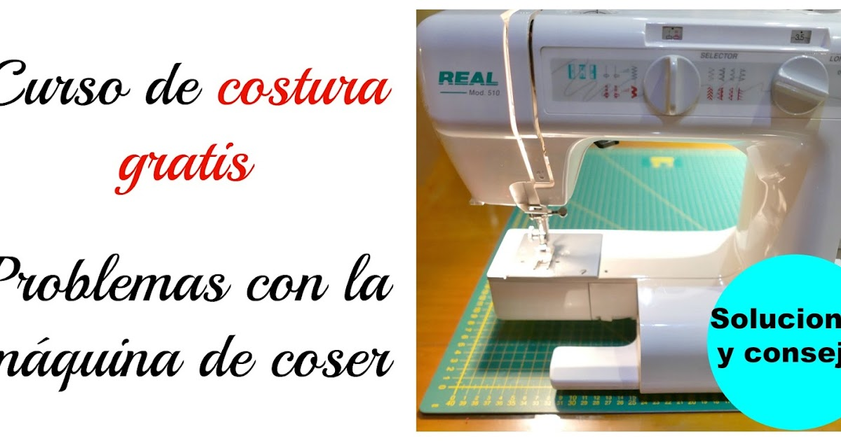 Problemas con la máquina de coser ~ Colours for Baby