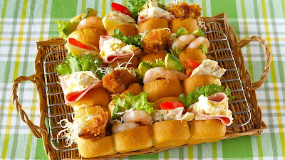 Dinner roll sandwiches tear n share bread video recipe dinner roll sandwiches tear n share bread video recipe create eat happy kawaii japanese food recipes and cooking hacks forumfinder Choice Image