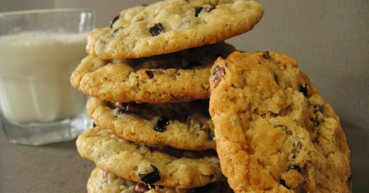 Ar me framboises cookies l 39 ancienne aux flocons d 39 avoine oatmeal cookies recette de laura - Recette cookies laura todd ...