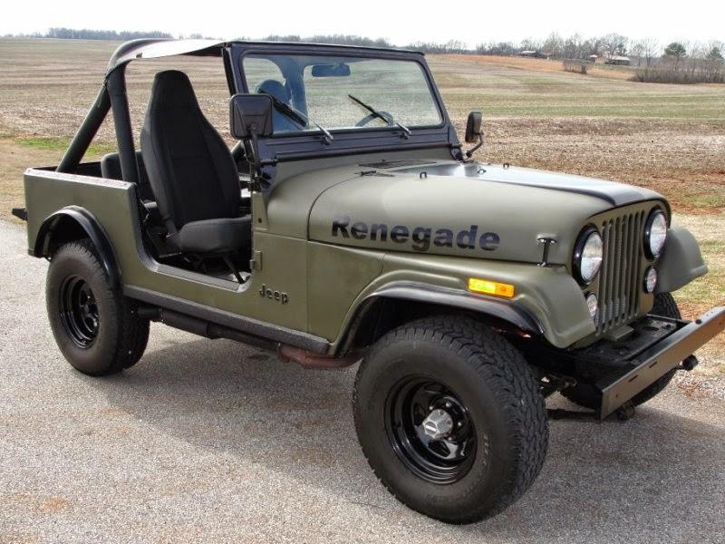 Modifikasi Mobil Jeep CJ-7 Tahun 81