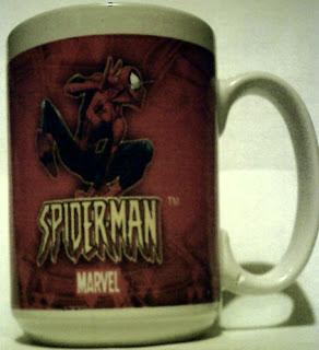 Right side of Spider-Man 2004 mug #1