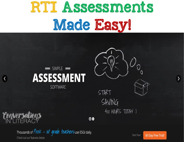 RTI Assessments and ESGI Software