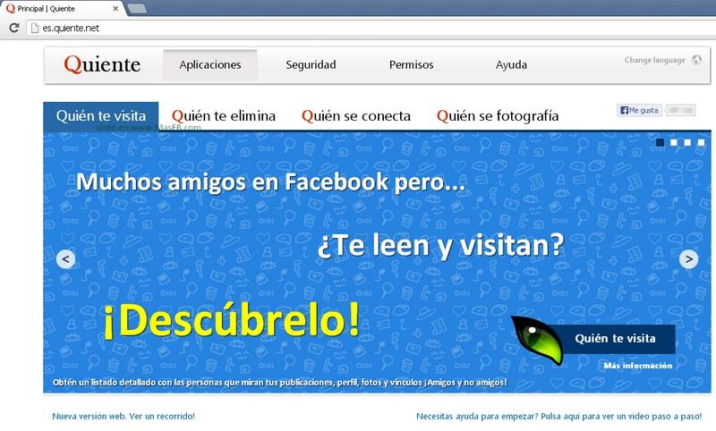 Quiente Fraude Facebook 2013