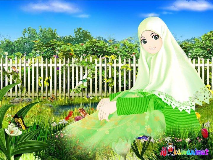 Foto Animasi Muslimah