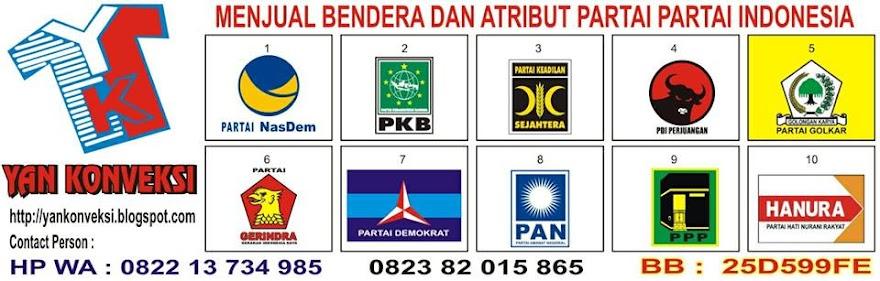 BENDERA PARTAI INDONESIA