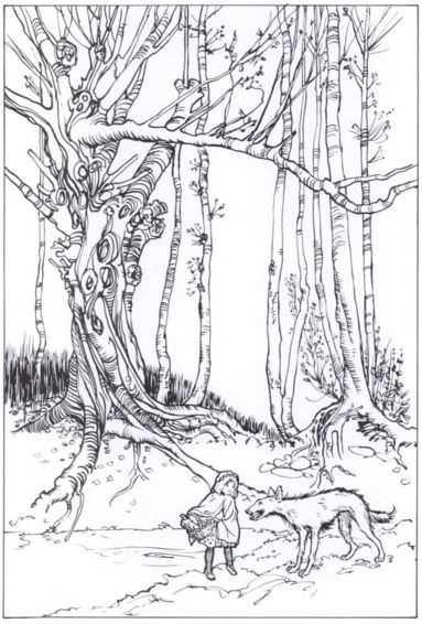 SurLaLune Fairy Tales Blog: Coloring Book Week: Rackham\'s Fairy Tale ...