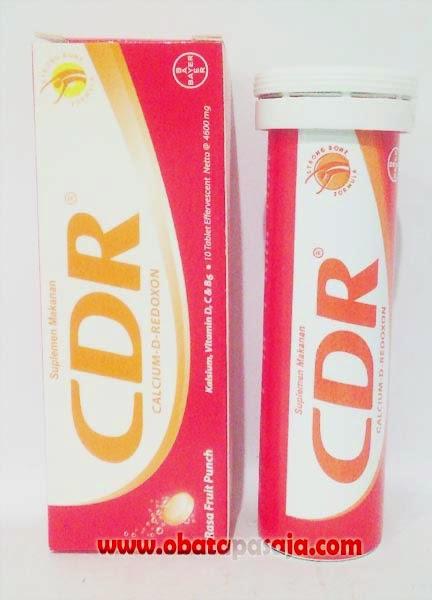 Komposisi,Kegunaan dan Harga CDR Effervescent Rasa Fruit Punch