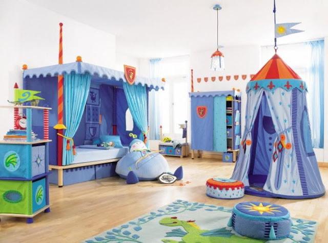 32 propuestas originales para una habitaci n infantil o - Organizar habitacion infantil ...