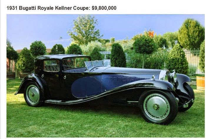 the 26 most expensive cars ever sold at an auction damn cool pictures. Black Bedroom Furniture Sets. Home Design Ideas
