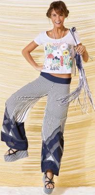 Farm verão 2014 calça pantalona Lookbook