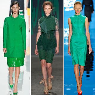 Shades Green 2013 Moda Renkleri