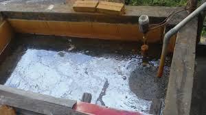 Thau dọn bể nước ngầm quận Thanh Xuân