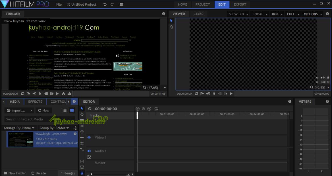 FXhome HitFilm Pro
