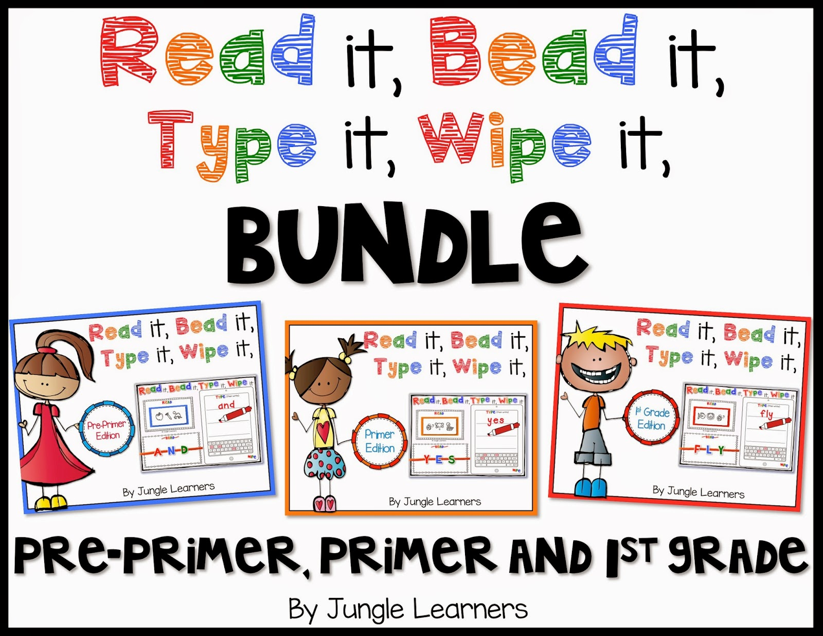 Read it, Bead it, Type it, Wipe it [Beginners Bundle]
