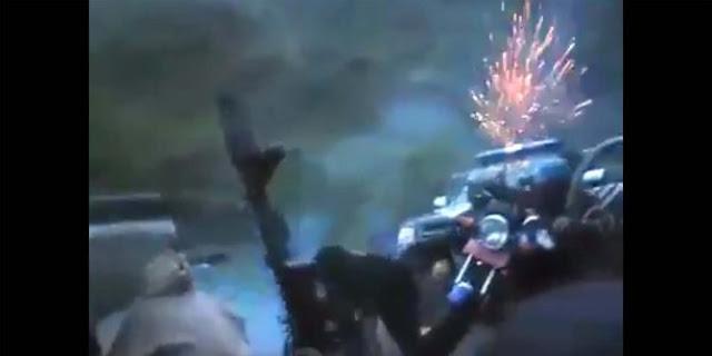 Video ketegangan Brimob disergap kelompok bersenjata di tengah hutan