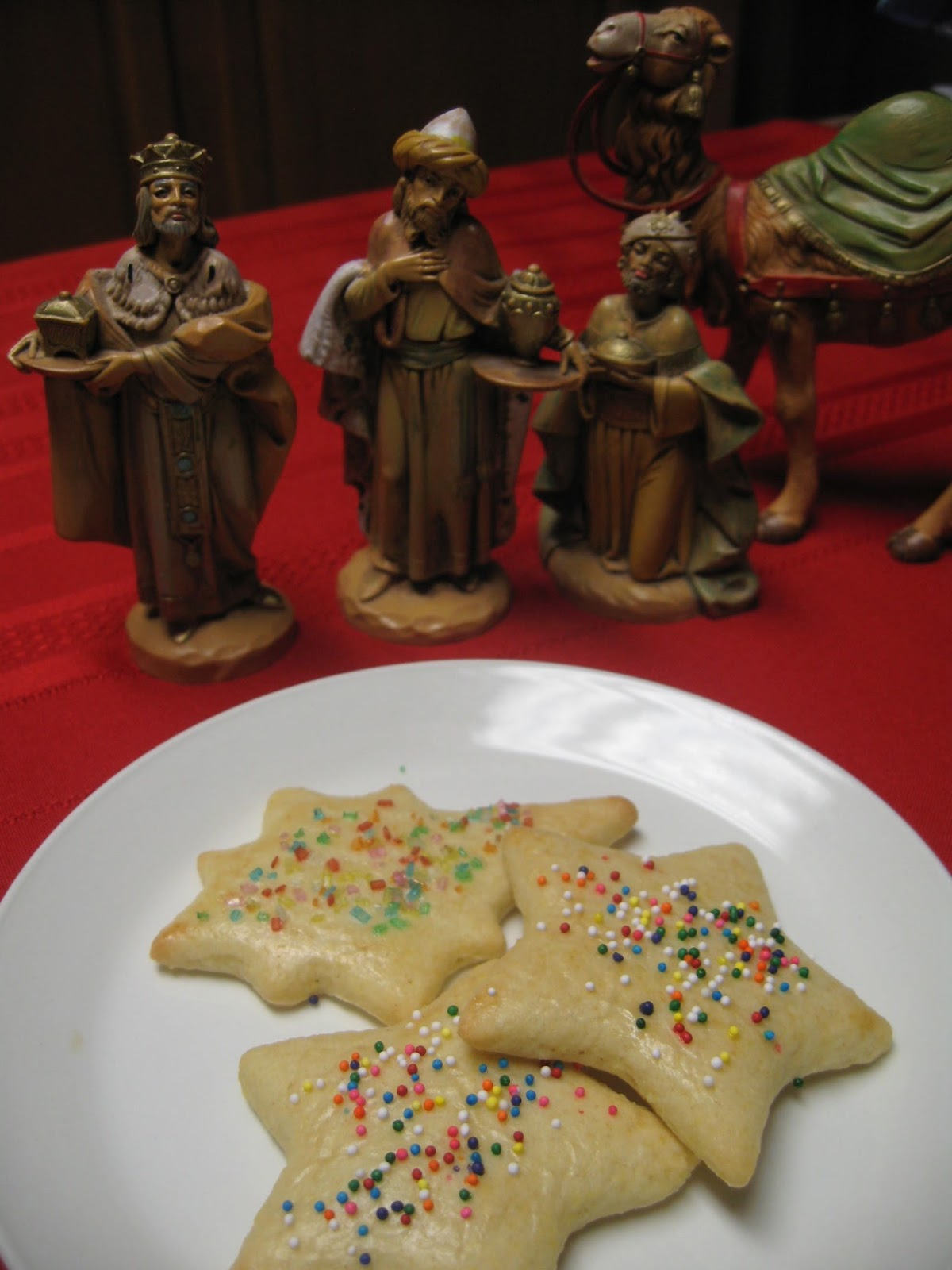 Dishes for Epiphany Eve and Baptism of the Lord 1