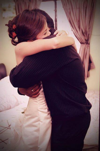 hug love