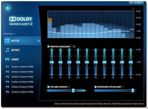 Dolby Advanced Audio v2