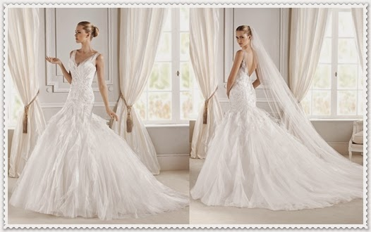 Frühjahr Brautkleider La Sposa Kollektion 2015