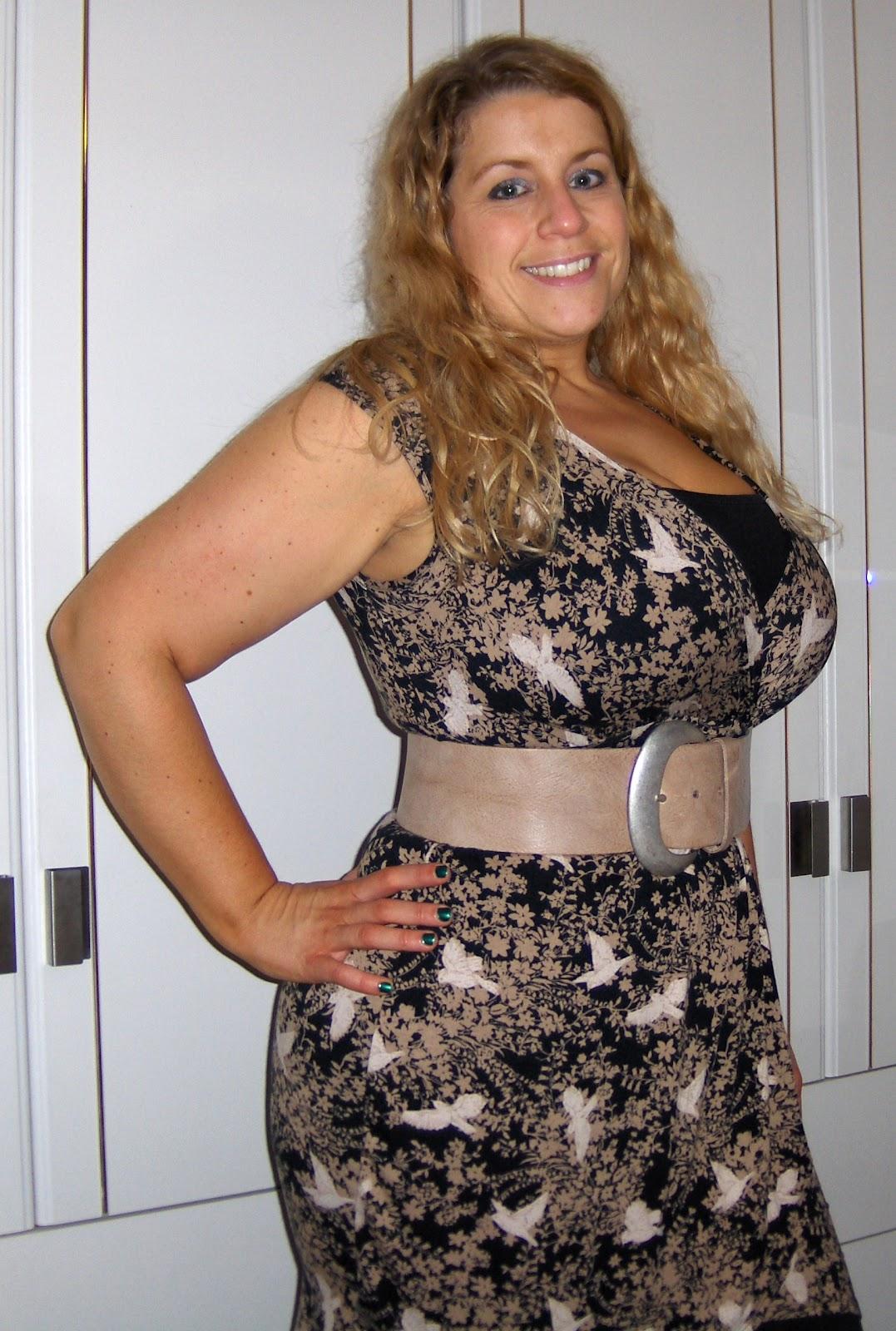 The  Birdie  dress from Dorothy Perkins - Curvy Wordy 96262ec8e