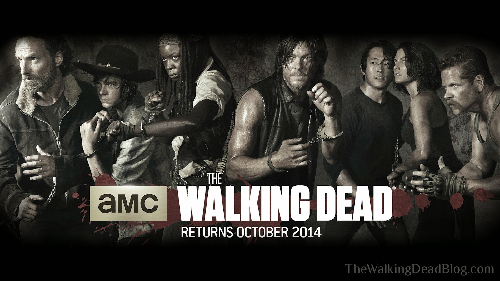 the walking dead blog: the walking dead season 5 wallpaper!