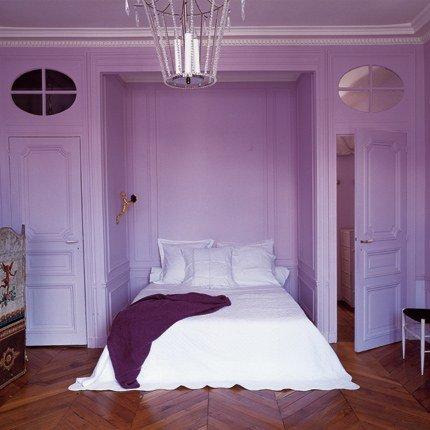 Habitaciones decoradas con color Violeta o Púrpura ...