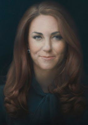 Kate Middleton's official portrait painting