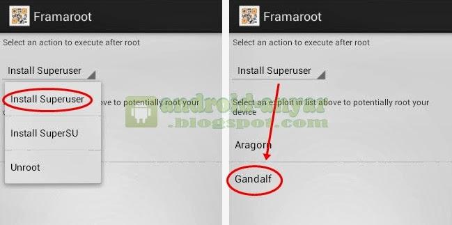 Tutorial cara mudah root Android HP Smartfren Andromax C JellyBean