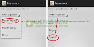 Tutorial cara mudah root Android HP Smartfren Andromax C JellyBean Hisense HS EG-902 secara langsung
