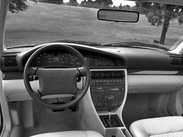 Audi 100 - quarta geração  - interior