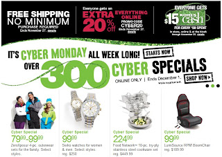 Kohl's Cyber Monday Deals Start Now + New 20% Off Code + FREE Shipping + Kohl's Cash