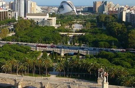 Globexs Valencia: Turia River Park Bike Path Work Has Begun